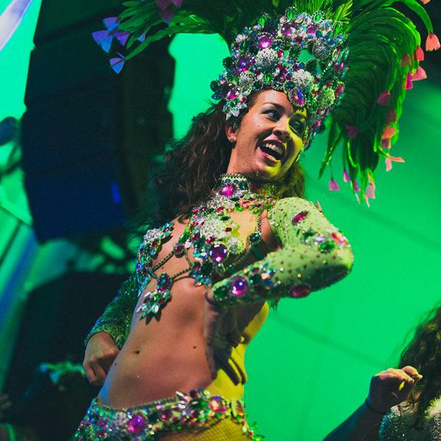 Foto del baile en la sala SHOKO