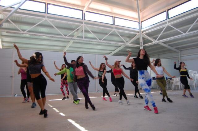 Foto de un taller de samba
