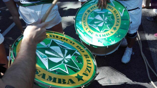 Foto de unos tambores